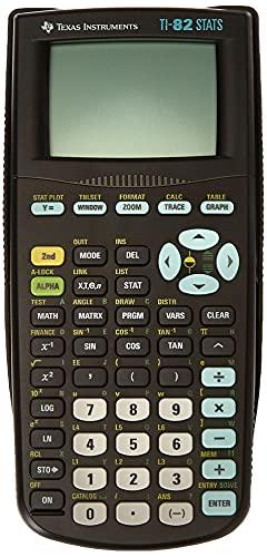 Texas Instruments TI-82 STATS...