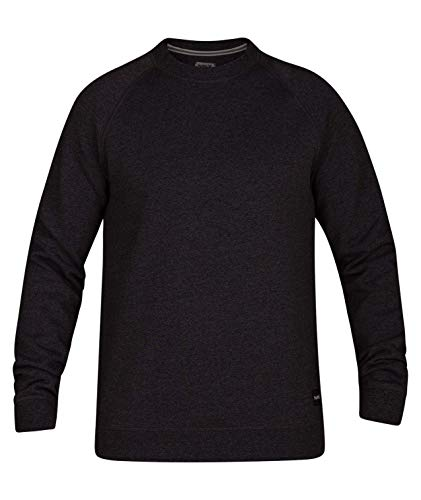 Hurley Heren Crone Marled Texture Trui Crew Fleece Sweatshirt