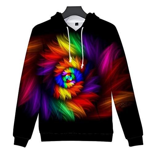 Hemd Herren Hemden Business Freizeithemd Männer Oberhemden Unisex Herren 3D Druck Hoodie Kreative Casual Long Shirts Top Bluse
