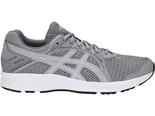 ASICS Men's Jolt 2 (4E) Running Shoes, 7XW, Stone Grey/Steel Grey
