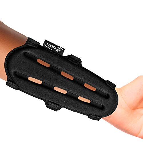 Adjustable T-best Leather Arm Guards Armguard for Archery Brown//Black Adult Youth Leather Protective Arm Guards Protector Wristband Costume For Recurve Bow Shooting Hunting