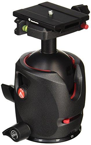 Manfrotto MH057M0-Q6 - Rótula de Bola para trípode (Zapata rápida Q6PL Tipo Q6), Negro