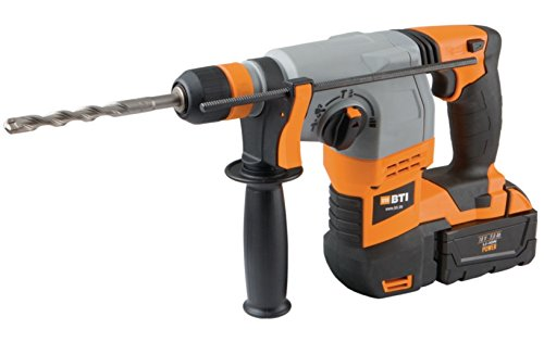 BTI Akku-Bohrhammer A18 mit Zubehör Akkus Ladegerät Aufbewahrungsbox Bohrhammer