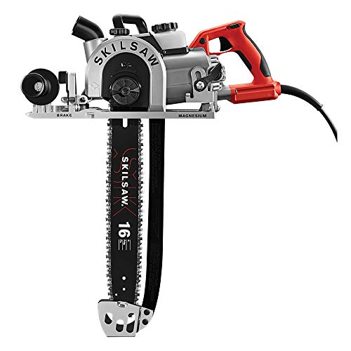 SKIL 16 In. Worm Drive Carpentry Chain Beam Saw - SPT55-11