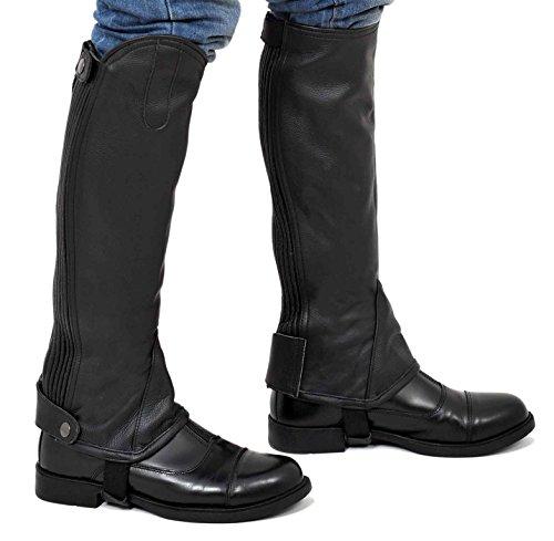 Riders Trend Full Grain Leather Gaiter -