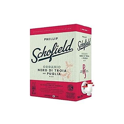 Phillip Schofield Nero di Troia IGP Organic   Italian Red Wine   Bag in Box   2.25L = 3 bottles