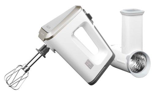 Krups GN 9071 Batidora de mano, 400 W, 2.5 L, plástico y cero inoxidable, color blanco
