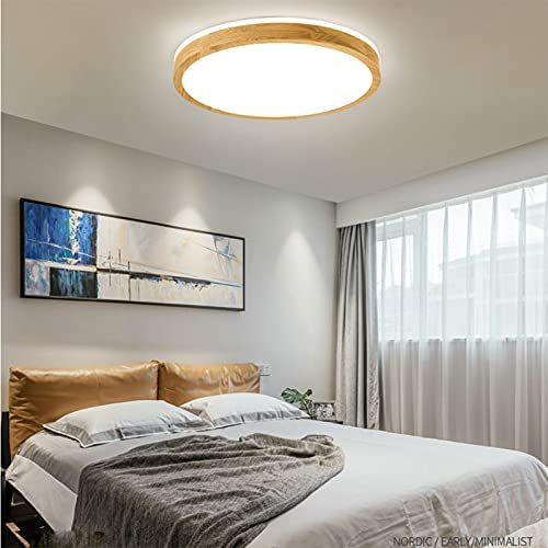 Ceiling Soldering Light Solid Wood LED Lights Limited price Cold 22W 48W 36W 64W