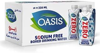 Oasis Still Water ZERO Tetra Pak, 330 ml (Pack of 18)