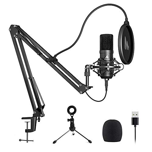 MAONO Microphone Cardioid Condenser Livestreaming
