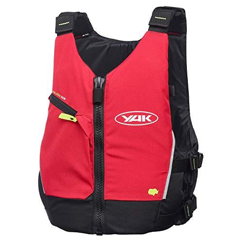 Yak Kayak & Kayaking - Kallista Kayak 50N Kajak Beiboot Segeln PFD Schwimmhilfe für den Wassersport RED 3707 - Flash Lining