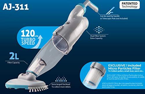 AquaJack Aspirador limpiafondos electrico con...