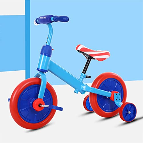 LiRuiPengBJ Children's bicycle 3 In 1 Baby Balance Bike for 18 Months To 6 Years Old Boys Girls Tricycle Kids Trike Infant 4 Wheel Balance Bicycle for Toddler First Bike (Color : Style2)