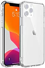 Meikon TPU Case for iPhone 11, Apple iPhone 11-6.1 inch Shock-Absorption Bumper Cover HD Clear