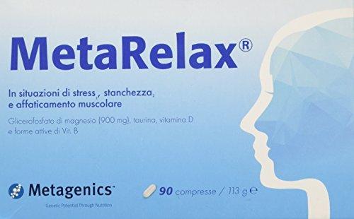 Scopri offerta per Metarelax 90 compresse Metagenics