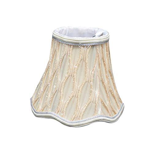 FICI Fashion Lampenkap Kroonluchter Wandlamp Kaars Duurzame lamp Spitse lamp Europese stijl stoffen lampenkap, 40