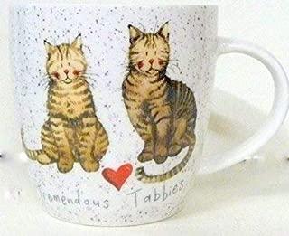 Alex Clark Squash Mug Charismatic Cats - Tremendous Tabbies