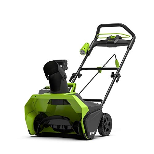 Greenworks Tools 2600007 Spazzaneve, 40 V, Verde