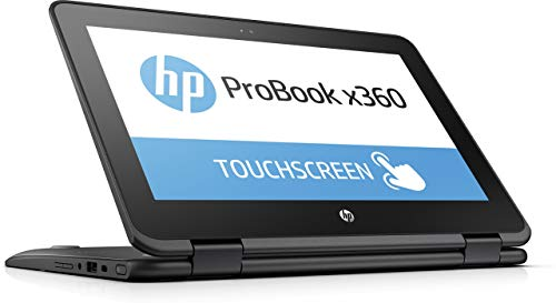 HP ProBook x360 11-G1 EE 11.6-inch 2-in-1 Convertible HD Touch-screen Laptop PC with Active Pen, Intel N3450 Quad-Core, 64GB eMMC, 4GB DDR3, 802.11ac, Bluetooth, Win10S (Renewed) -  HP ProBook x360 11-G1 EE-cr