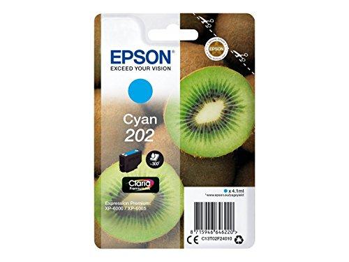Epson Cartuccia d'inchiostro per Epson, ciano, Expression Photo XP-6000, XP-6005, 4,1 ml, 300 pagine