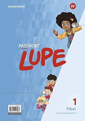 PASSWORT LUPE - Fibel: Buchstabenkarten