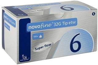 NovoFine Pen Needle 32G x 6 mm (100 count)