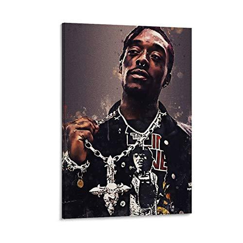 Póster artístico de A Rapper Hip Hop Lil Uzi Vert 6 sobre lienzo y arte de pared, moderno póster para decoración de dormitorio familiar de 30 x 45 cm