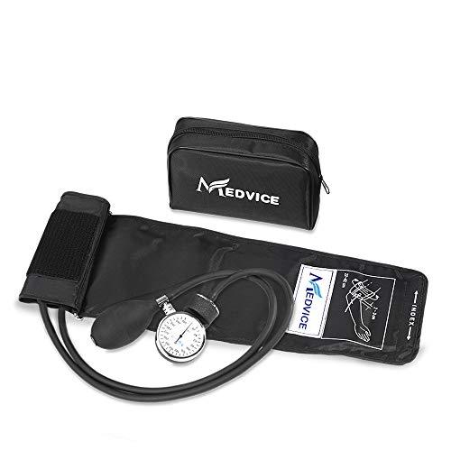 Best manual blood pressure cuff - Medvice Manual Blood Pressure Cuff - Universal Size Aneroid Sphygmomanometer - Nurses BP Monitor - Best Adult BP Machine