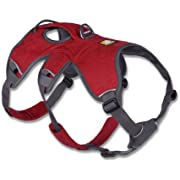 RUFFWEAR - Web Master, Multi-Use Support Dog Harness, Hiking and Trail Running, Service and Working, Everyday Wear, Twilight Gray, Medium
