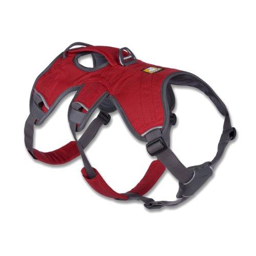 Ruffwear 30101-615LL1 Web Master Harness Hundegeschirr, L / XL, rot