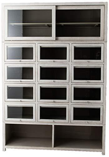Amadeus - Bibliothèque 3 modules 153cm x 220cm x 45cm