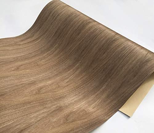 NO LOGO 1Piece Lengh: 2.5meters Breite: 60 cm Stärke: 0.35mm Black Walnut Holzfurnier (Back Kraftpapier)