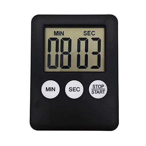 ROKOO LCD Digitale Scherm Keuken Timer Vierkant Koken Countdown Alarm Magneet Klok