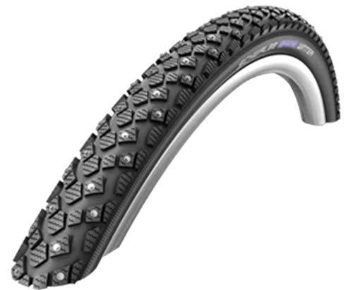Schwalbe Fahrrad Reifen Marathon Winter WIC // alle Größen, Ausführung:schwarz Reflex, Drahtreifen, Dimension:47-559 (26×1,75´´)