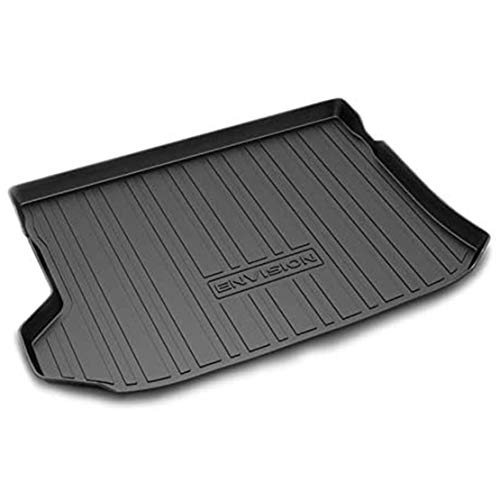 Car Boot Mats for Buick Envision 2014-2020 Custom Tailored Rubber Trunk Liner Floor Protector Luggage Tray Waterproof Black Cargo Mat Sheet
