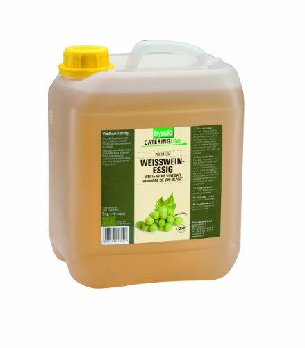 Byodo Vinagre para vino blanco (1 bidón de 5 kg) - Bio