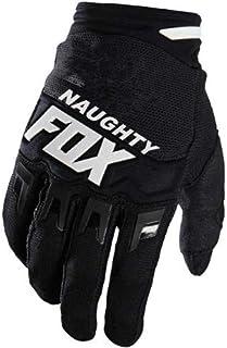 DJLHNNew Naughty Fox Pink Blue Gloves Motorradfahren Dirt Bike Mountainbiken Motorrad DIRTPAW Race Gloves   Schwarz, XL