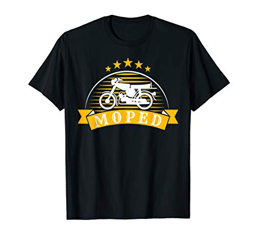 S51 Moped Oldtimer Geschenk | Simson-S51 T-Shirt