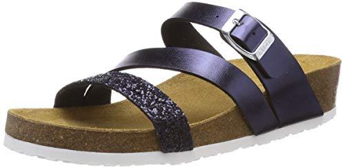 ARA Damen Bali 1217277 Pantoletten, Blau (Blau 02), 43 EU