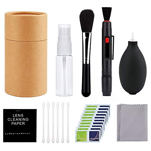 Phinistec Kit de Limpieza Profesional para Cámaras Réflex y Lente óptica cámaras Digitales SLR (22 en 1 Paquete)