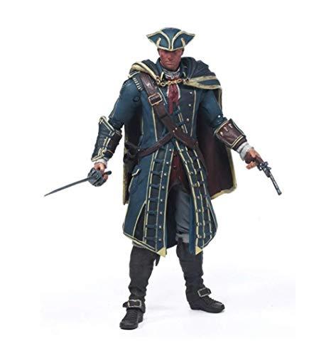 lkw-love Anime Figuren Action Figure Spielzeug Modell Assassins Creed Black Flag McFarland Modell Modell Szene Ornamente Souvenirs/Sammlerstücke/Handwerk 17 cm Spielzeug Statue