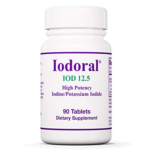 Optimox Iodoral 12.5 mg - Original High Potency Iodine Supplement - Energy...
