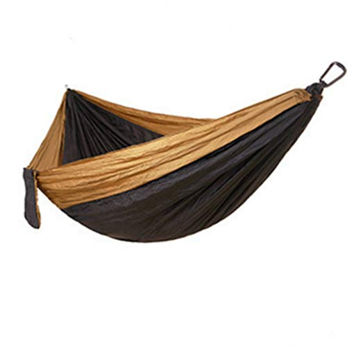 Camping Hammock 270 * 140cm Double People Hammck Lightweight Nylon Portable Hammocks Hanging Chair Bed Swing
