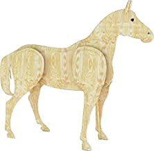 A Woodworking Plan to Build a 3-d Life Size Horse (No Wood Included)