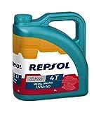 Repsol RP131Y54 Nautico Diesel Board 4T 15W-40 Aceite de Motor, 4 L