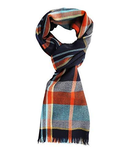 ETON Hemden – mehrfarbiger Merino-Schal