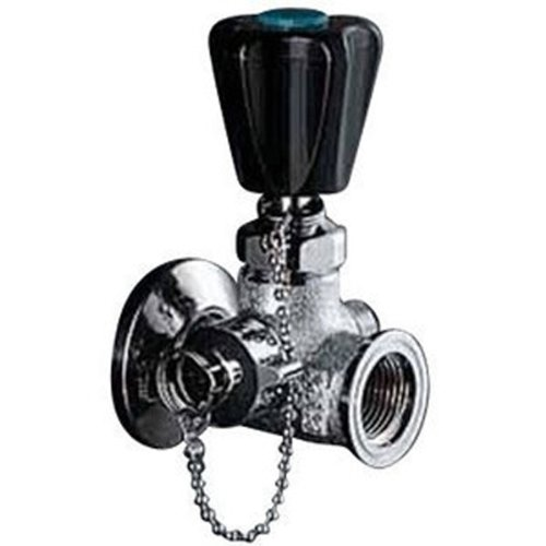 KVK K20W 三方分岐水栓 コック付 家庭日用品