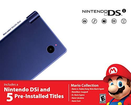 Nintendo DSi Bundle - Metallic Blue (Renewed)