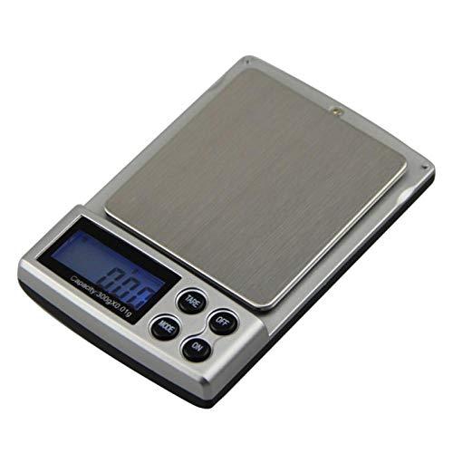 Básculas de laboratorio digitales portátiles Básculas de laboratorio de precisión Básculas de bolsillo de joyería Básculas electrónicas de peso Báscula portátil 500g 0.1g