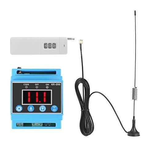 Ouitble Control de Bomba, 1PC AC 380V 1000M Interruptor de Control Remoto inalámbrico de Bomba + Antena
